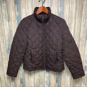 Kenneth Cole Coat sz M Down Filled Quilted